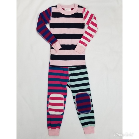 Hanna Andersson Other - Hanna Andersson Organic 2 Piece Striped Pajamas